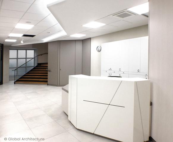 Rénovation agence bancaire :: co-conception