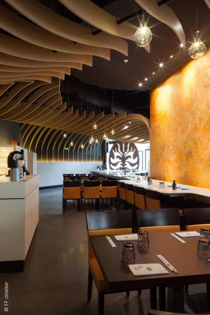 Restaurant japonais Tokami à Gramont :: co-design d'espace