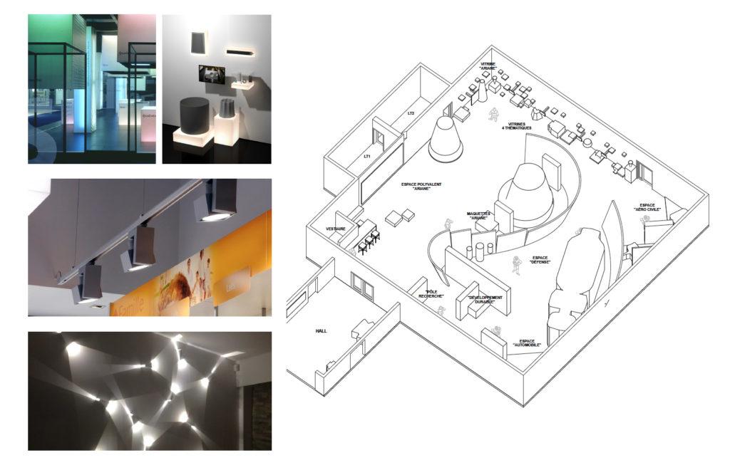 Showroom Herakles à Bordeaux :: co-design d'espace