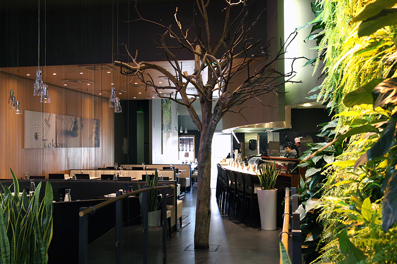 Restaurant Tokami à cc Blagnac :: co-design d'espace
