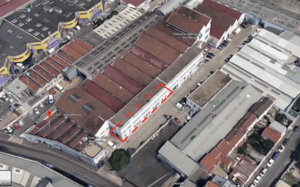 Laboratoire à e-liquide à Pantin :: projet architectural